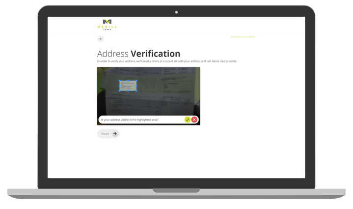 Tonic - Onboarding - Intelligent document scanning - desktop